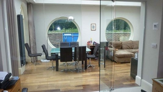 Seamless Glass Doors